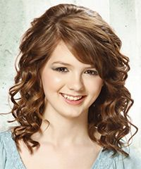 Salon Hairstyle: Formal Medium Curly Hairstyle