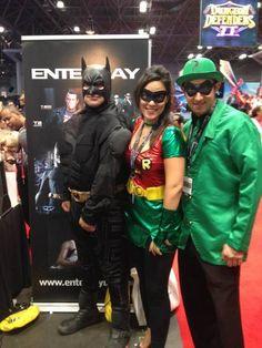 #Enterbay #EnterbayUSA #NYCC #NYC #ComicCon #Booth #Batman