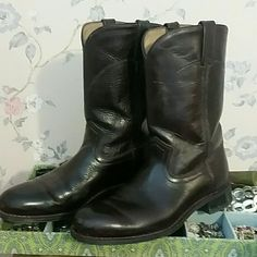 Roper Boots Excellent condition dark brown women's roper boots Shoes Heeled Boots