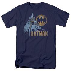 Batman - Knight Watch Short Sleeve Adult 18/1