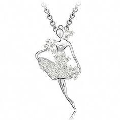 TAOTAOHAS Damen Sweater Anhänger Halskette mit Crystallized Swarovski Elements Kristall Clear 18K 750 Weißgold, Ballett Mädchen TAOTAOHAS-Crystal http://www.amazon.de/dp/B00CJUHV2E/ref=cm_sw_r_pi_dp_SW3Xub1B1W81E