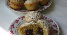 Csilla konyhája, mert enni jó!: Diós- csokis muffin Merida, Doughnut, Muffins, Breakfast, Cupcake, Kitchen, God, Morning Coffee, Cooking