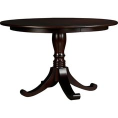 Kipling Pedestal Extension Dining Table in Dining & Entertaining | Crate and Barrel