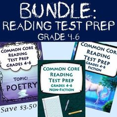 Some vigorous standardized testing is right around the corner. Our bundle is ideal for the preparation that must be done beforehand. In order to score well on the assessments included in our test prep bundle, the students must engage in close and critical reading.