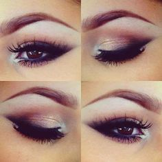 The perfect smokey but bright eye...perfect for the late summer and early fall nights!