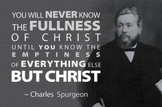 Charles Spurgeon quote~