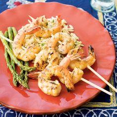 Italian Shrimp & Rosemary Spiedini