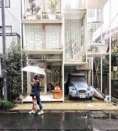 Tokyo town-house designed by architect Sou Fujimoto