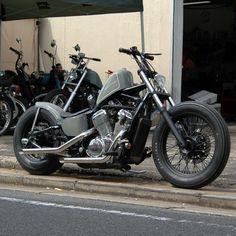 Honda Bobber, Bobber Bikes, Bobber Motorcycle, Honda Motorcycles, Vintage Motorcycles, Yamaha, Shadow Bobber, Honda Shadow, Custom Bobber