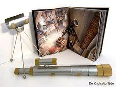 Telescoop knutselen van keukenrol en wc-rolletjes | knutselen | armstrong | de vier windstreken | telescoop | telescoop knutselen | sterrenkijker knutselen | thema ruimte | sterrenkijker