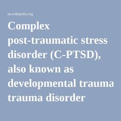An overview of the effects of war on society and the post traumatic stress disorder