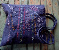 Tote Bag no7 aka Richter bag. - love Lambert's work