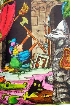 The Sorcerer's Apprentice Barbara Hazen ~ Tomi Ungerer ~ Lancelot Press, 1969