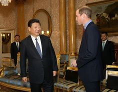 Prince William Photos - Chinese President State Visit - Day One