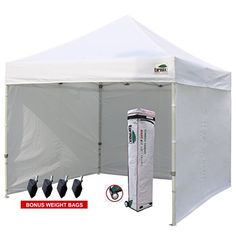 Eurmax 10u0027x10u0027 Ez Pop-up Canopy Tent Commercial Instant t.  sc 1 st  Pinterest & AbcCanopy 10 X 10 Ez Pop up Canopy Tent Commercial Instant Gazebos ...