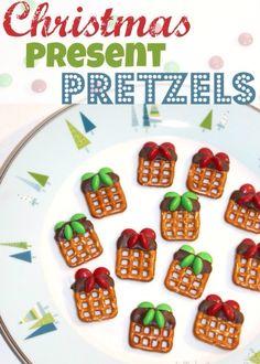 Presents pretzels