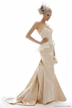 Elizabeth Fillmore Fall 2012 bridal collection