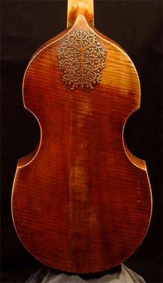 Lovely. My son is a violinist, but wants to learn the cello and viola as well. Voil da gamba carving