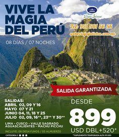 Uno de los lugares más místicos y lleno de cultura en latinoamérica! Salidas: Mayo, Junio y Julio!