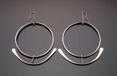 Earrings | Art Smith. ca 1950.  Silver