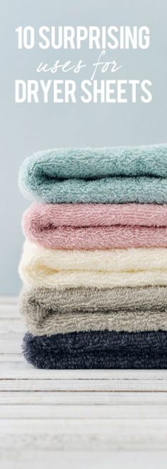 10 Surprising Uses for Used Dryer Sheets