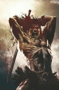 Conan the Slayer by Lee Bermejo