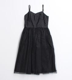 【OLIKA】ナイロンチュールチュチュキャミドレス