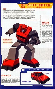 Transformer of the Day: Cliffjumper