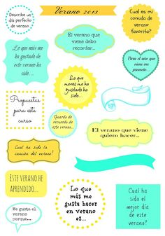 Diario de verano handmade   Elenarte