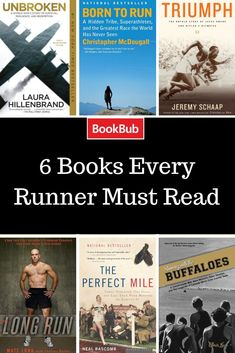 Books for runners #running #workouts
