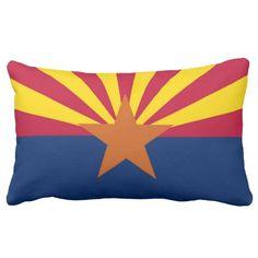 State Flag Of Arizona Pillow