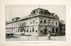 1900 Print President Palace Managua Capital Nicaragua Department XGOC7