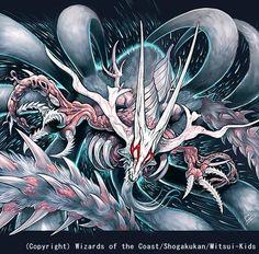 Super Necrodragon Abzo Dolba-Duel Masters artwork
