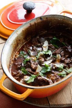 Jill Dupleix's lamb stew with red wine, anchovies and parmesan
