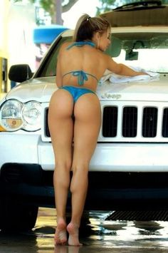 Girls jeep dirty hot