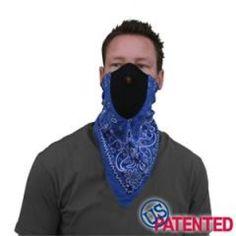 Pink Black Flames Neodanna Neoprene Cotton Face Mask Biker Ski Free Shipping