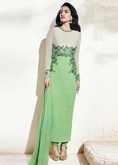 dcfe8beb63b4a2 Bhagalpuri  amp  Georgette A-Line Salwar Suit  eid2016  eidsale   eidsalwarkameez