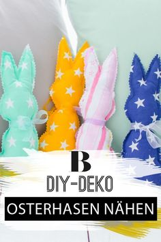 Sewing Easter bunnies: ideas and instructions. Sewing easter bunnies is easy and suitable for beginners. The Easter Bunny can be used as decoration or DIY gift. Printable Christmas Cards, Christmas Greeting Cards, Greeting Card Shops, Black And White Baby, How To Start Knitting, Christmas Sewing, Animal Decor, Types Of Yarn, Animal Nursery