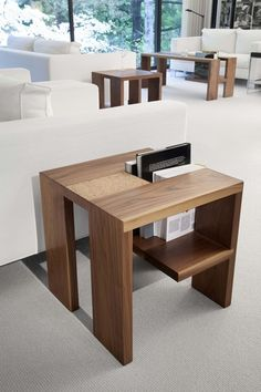 I obsess over this table. What a great #bedside table - a way to hold that book you read for nights on end. CORK2- Book Table   Doodle Home - Dedicated to Design