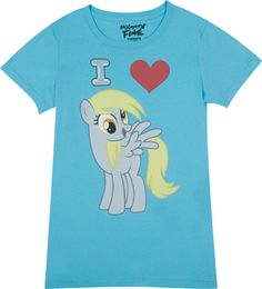 This website has some great shirts from MLP: FIM, old MLP, Jem and the Holigrams, Scooby Doo, and so many others. And they aren't outrageously priced either.