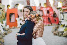 Downtown Las Vegas Fuss-Free Wedding