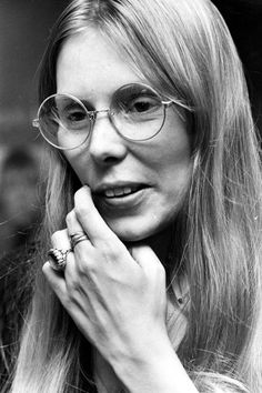 Joni Mitchell in Toronto, by Fred Ross