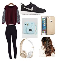 """""""Untitled #15"""" by kacywyman-2 on Polyvore featuring beauty, NIKE, Beats by Dr. Dre and Suzywan DELUXE"""
