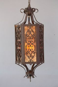 Light Fixtures On Pinterest Spanish Revival Antique
