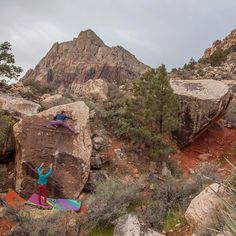 May 6-8 the @accessfund's ROCK project event comes to Las Vegas. I love this area. It's a delicate place and with the inevitability of climbing's growth we have to take care of it. Presentations from pros around the world clinics on climbing technique and outdoor etiquette and some good ole rock climbing. Buy tickets now at accessfund.com. Photo @sashaturrentine by alexjohnson89
