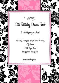 1000 Images About 18th Birthday Party On Pinterest