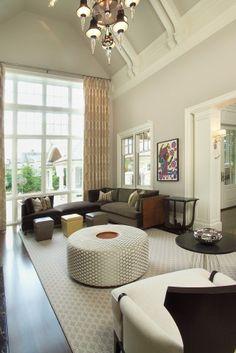 family room by Studio H Design