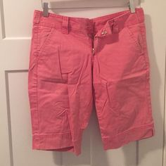 Lucky brand Nantucket red shorts Lucky brand dungaree shorts in Nantucket red. Perfect for your New England summers. Lucky Brand Shorts Bermudas