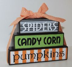 Nap Time Crafts: Halloween Stacker