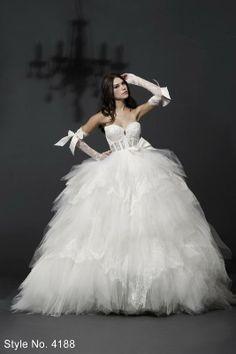 Pnina Tornei Wedding Dress